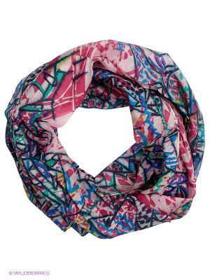 Платок Labbra. Цвет: розовый, голубой, зеленый