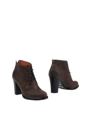 Полусапоги и высокие ботинки F.LLI BRUGLIA. Цвет: хаки