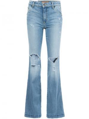 Джинсы  Wasteland Flare Joes Jeans Joe's. Цвет: синий