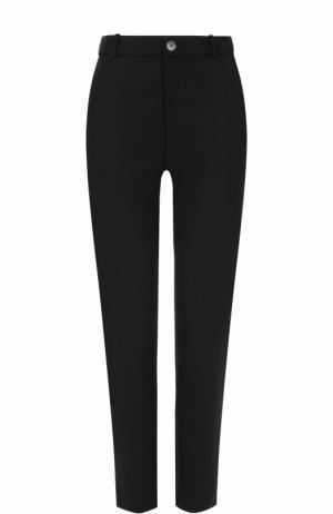 Укороченные брюки прямого кроя с карманами Balenciaga. Цвет: черный