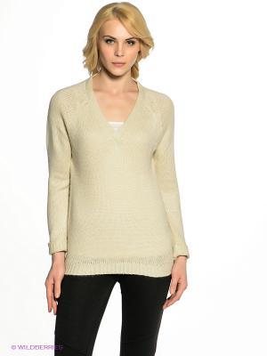 Пуловер EASY WEAR. Цвет: молочный