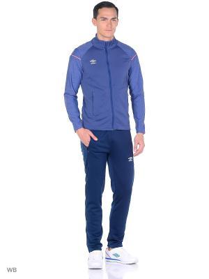 Спортивный костюм Umbro. Цвет: синий, красный, темно-синий