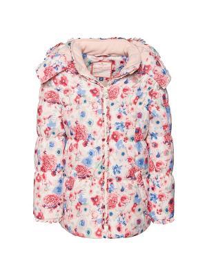 Куртка TOM TAILOR. Цвет: терракотовый, бежевый, розовый