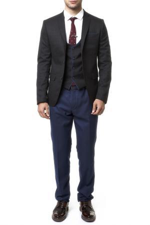 Suit Mr akmen. Цвет: navy and brown
