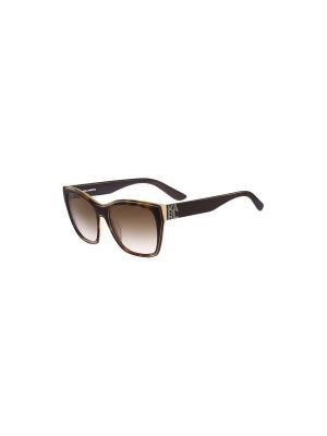 Солнцезащитные очки KL 899S 072 Karl Lagerfeld. Цвет: бежевый