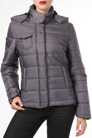 Куртка HDS. Цвет: серый