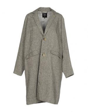 Пальто SWILDENS. Цвет: серый