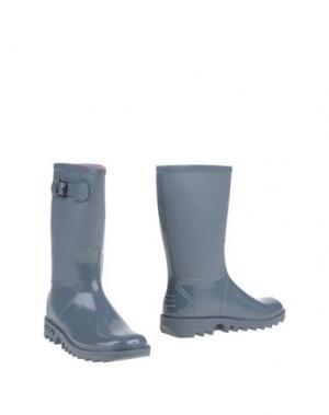 Полусапоги и высокие ботинки SENSI. Цвет: серый