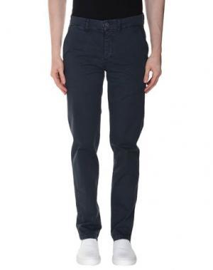Повседневные брюки RANSOM. Цвет: грифельно-синий