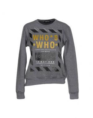 Толстовка WHO*S WHO. Цвет: серый