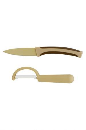 Набор ножей Calve. Цвет: бежевый