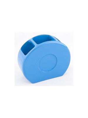 Подставка для зубных щеток XVIBBL001R Vibes Blonder Home. Цвет: синий