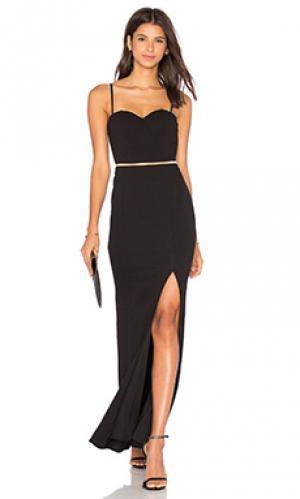 Платье novo Elle Zeitoune. Цвет: черный