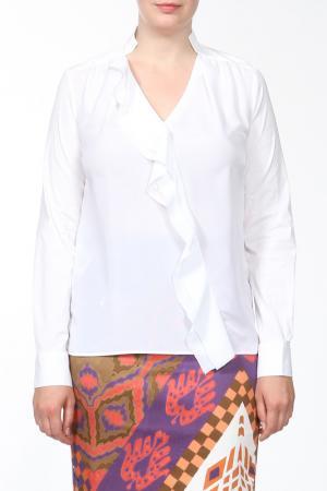Рубашка-блузка For.Me Elena Miro. Цвет: белый