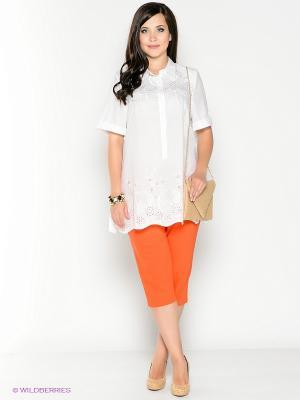 Капри Silver-String. Цвет: оранжевый