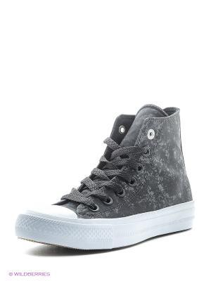 Кеды Chuck Taylor All Star II Converse. Цвет: серый