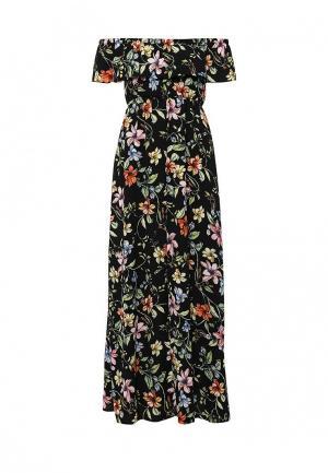 Платье Lovini. Цвет: разноцветный