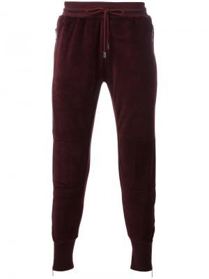 Спортивные брюки Vulcan Blood Brother. Цвет: красный