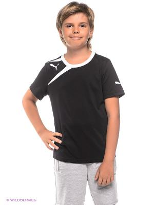 Футболка Puma. Цвет: черный, белый