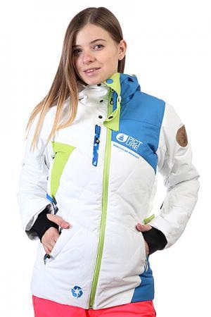 Куртка женская  Jkt Leader White Picture Organic. Цвет: белый