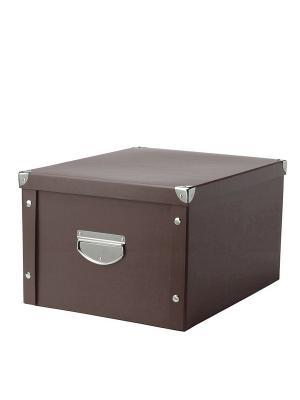 Коробка для хранения DEEPOT. Цвет: коричневый