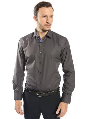 Рубашка GroStyle. Цвет: серый