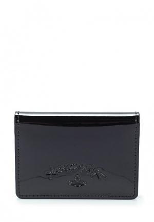 Визитница Vivienne Westwood Anglomania. Цвет: черный