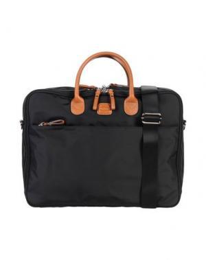 Деловые сумки BRIC'S. Цвет: черный