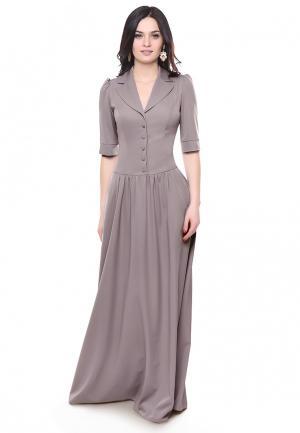 Платье Grey Cat. Цвет: серый