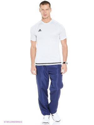 Брюки REG FUNCTION2.0 Adidas. Цвет: темно-синий
