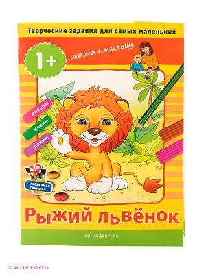 Творческие задания. Рыжий львёнок АЙРИС-пресс. Цвет: оранжевый
