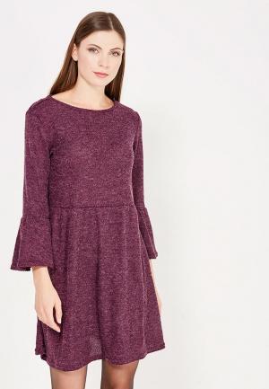 Платье Befree. Цвет: фиолетовый