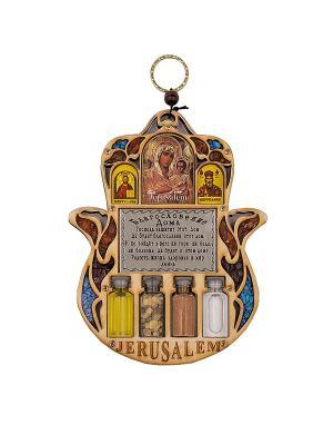 Триптих  - Благословение Дома Holy Land Collections. Цвет: бежевый
