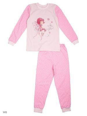 Пижамы КВК. Цвет: розовый, малиновый