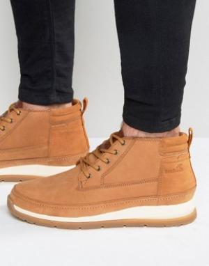 Boxfresh Кожаные ботинки Cryser. Цвет: рыжий