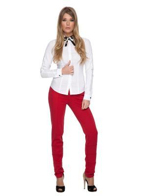 Рубашка Gloss. Цвет: белый, черный