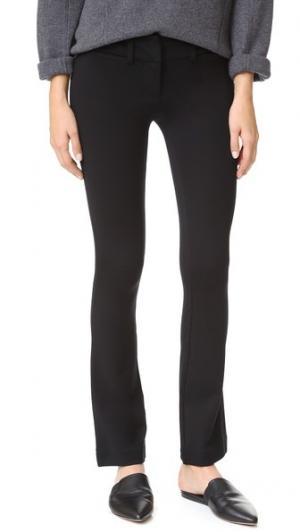 Расклешенные брюки-скинни David Lerner. Цвет: классический черный