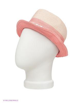 Шляпа Maxval. Цвет: бежевый, розовый