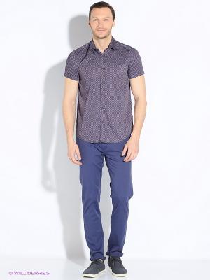 Рубашка Dairos. Цвет: фиолетовый