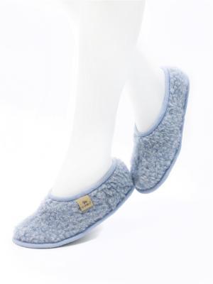 Тапочки ALWERO. Цвет: голубой