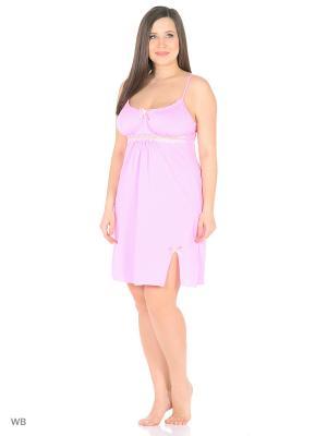 Ночная сорочка KIDONLY. Цвет: бледно-розовый