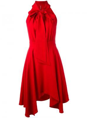Платье Obbi Rosso La Mania. Цвет: красный