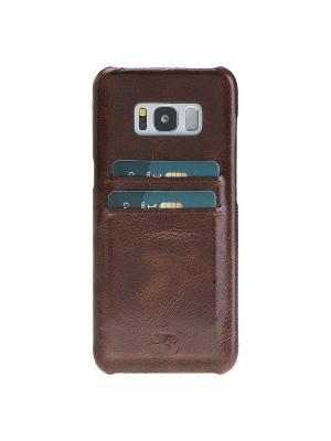 Чехол бампер Samsung Galaxy S8 Plus Burkley. Цвет: коричневый