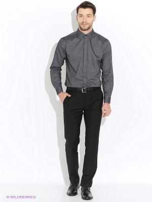 Рубашка Mavango. Цвет: серый, темно-серый