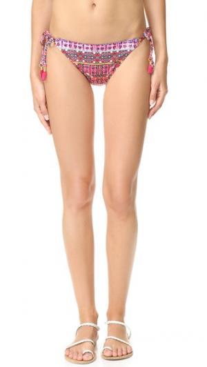 Плавки бикини Sunset Shibori Vamp Nanette Lepore. Цвет: мульти