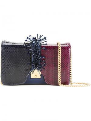 Декорированная сумка через плечо Kitty Marc Jacobs. Цвет: синий