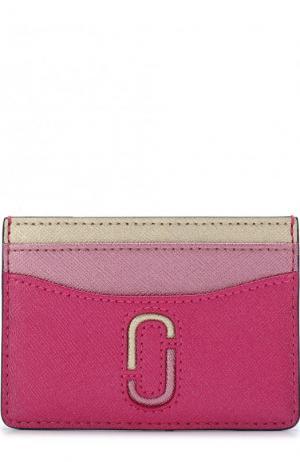 Кожаный футляр для кредитных карт Marc Jacobs. Цвет: розовый