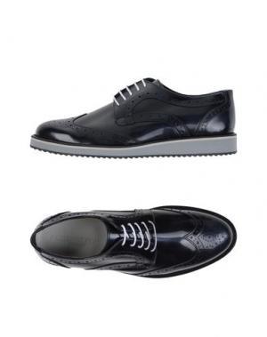 Обувь на шнурках ROBERTO PEPE. Цвет: темно-синий