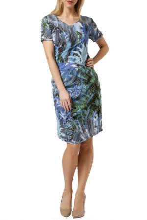 Платье Jones. Цвет: мультицвет