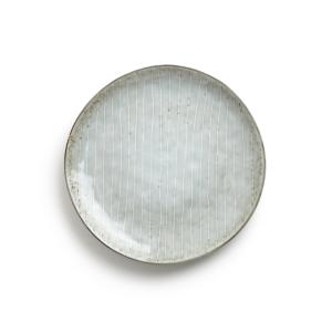 Комплект из 4 десертных тарелок керамики, Amedras AM.PM.. Цвет: серо-синий